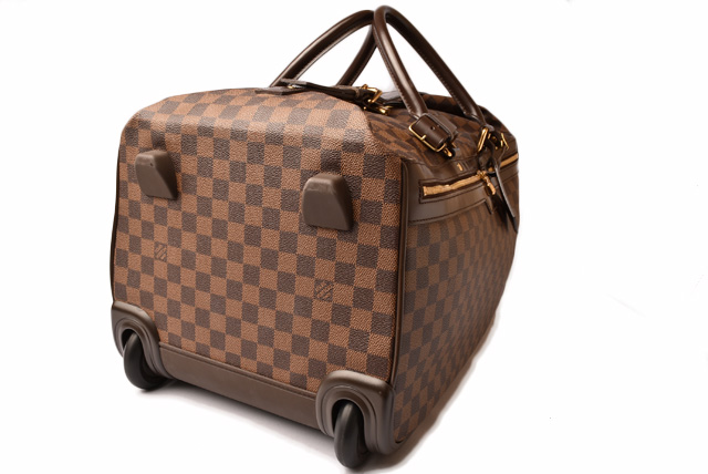 Trip Use Working Under Business To Louis Vuitton Boston Bag Carrier エオール 50 N23205 ダミエトラベル Caster