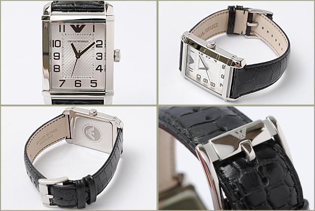 엠포리오 아르마니 EMPORIO ARMANI 남성 시계 (Classic) 블랙 AR0486