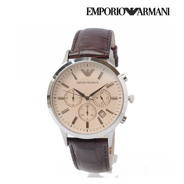 affordable price cheap for sale sneakers Emporio Armani EMPORIO ARMANI men watch classical music chronograph AR2433
