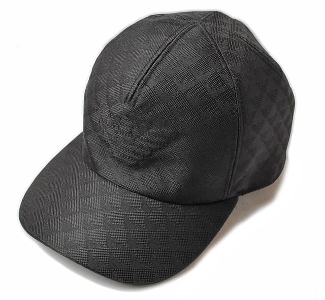 b79b59b6376 Emporio Armani cap   hat. EMPORIO ARMANI men baseball cap black   logo  627766 6A507 00020