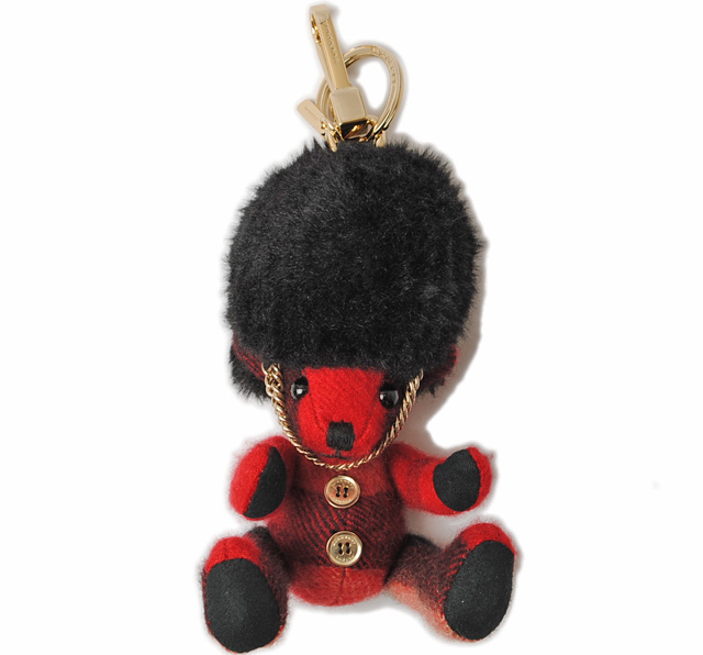 utterly stylish online shop wholesale online Unused Burberry Keyring / Keychain BURBERRY Teddy Rouge system