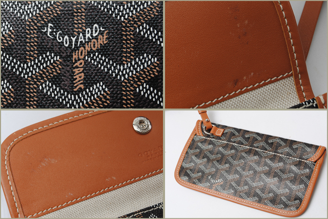 073c7ce52526 Goyard is popular Tote Saint-Louis. Herringbone pattern also said that the  iconic Goyard. Utilizing the natural material cotton and linen canvas