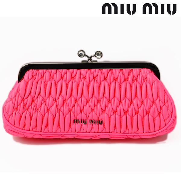 Import shop P.I.T.  miu miu miu miu clutch porch   handbag 5M1327 ... bf57b49fc9ed4