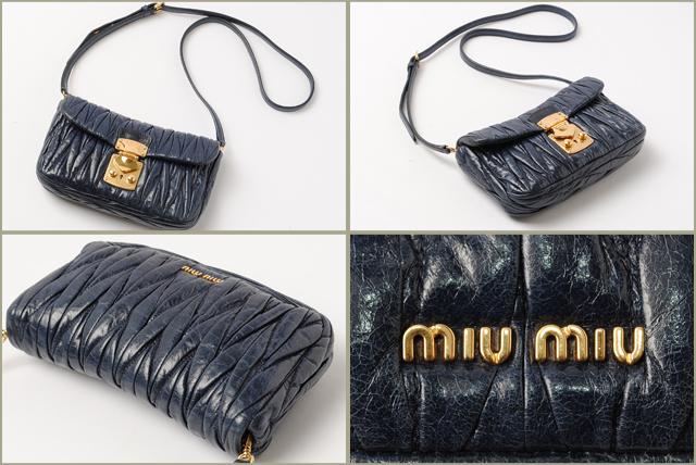 ... A sister brand of Prada and the popular  MIU MIU Leather Matelasse  Shoulder Bag ... 1951496664
