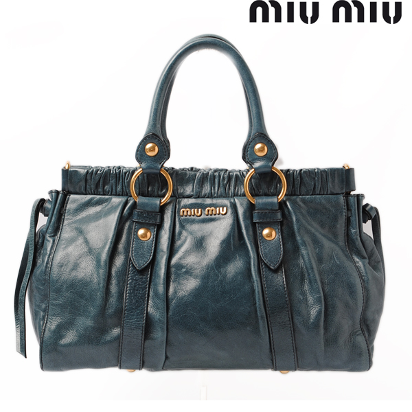 11e6b1940ad Import shop P.I.T.  Miu Miu miumiu shoulder bag   handbag RT0383 2 ...