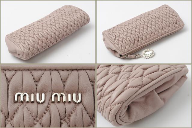 045cd07be707 Import shop P.I.T.  Miu Miu miu miu minicratch bag   pouch ...