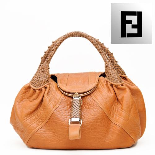 458d08266fd3 Import shop P.I.T.  FENDY fendi bag spy bag   tote bag software leather    dark green 8BR511