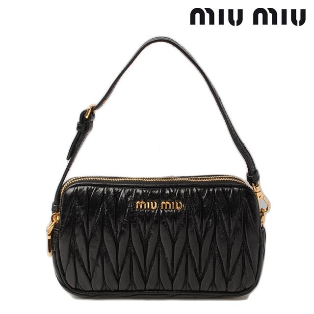 Import shop P.I.T.  Miu Miu bag miu miu i phone case   smahocase   MiniPCI  leather black 5ARH02 outlet  0622d261b4189