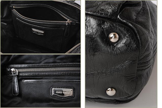 941cf50d03f3 Miu Miu shoulder bag   Tote 2-way. Miu miu studded vintage leather black  heart charm