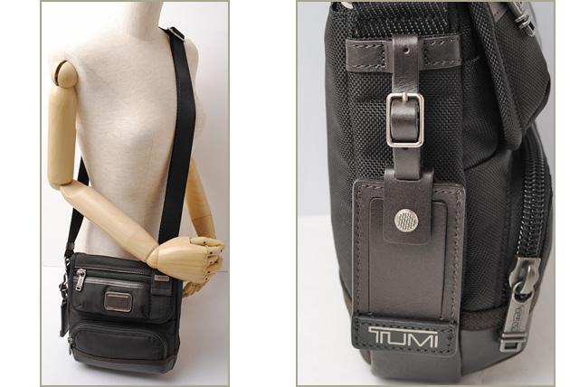 Unused Tumi Shoulder Bag Crossbody Barstow Alpha Brabo 0222306hk2 Black