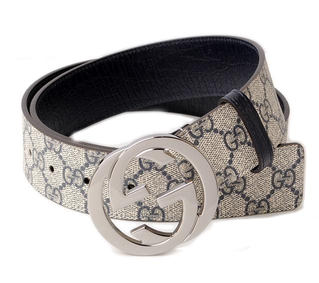 17df15e74aa5f Import shop P.I.T.  Gucci belt men s GUCCI GG plus GG blue   beige ...