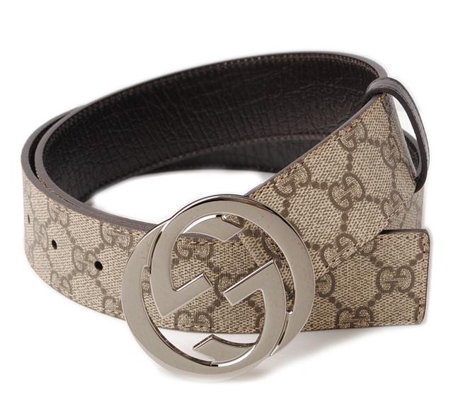 9d60e7212 Gucci men's belt. GUCCI/GG plus GG brown / beige 114984 KGD1R9643 グッチ 財布
