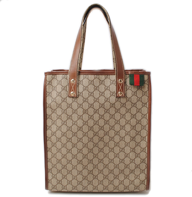 Gucci Tote Bag Handbag 211135 Kgd3g8527 Gg Plus Beige Brown
