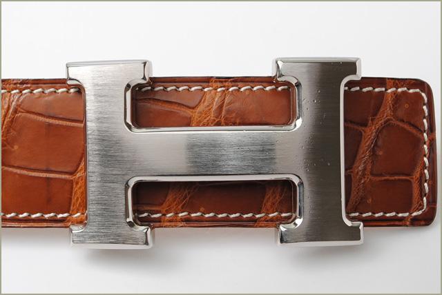 import shop p i t rakuten global market hermes belt hermes constance h crocodile brown. Black Bedroom Furniture Sets. Home Design Ideas