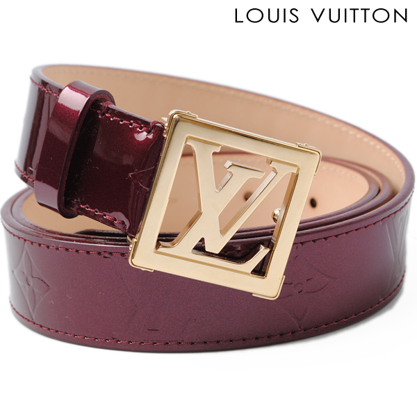 louis vuitton louis vuitton belt sun tulle lv frames 30 mm m6878 vernis patent leather
