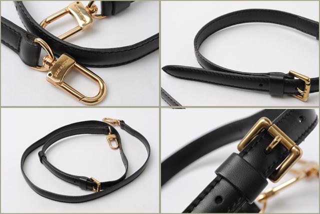 b2b956cc8f64 Louis Vuitton LOUIS VUITTON adjustable shoulder strap J00272 for EPI Noir    black