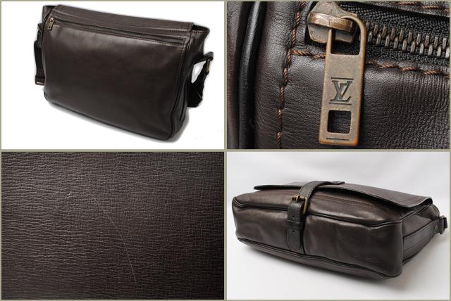 f0edeab6c4 Import shop P.I.T.: Louis Vuitton LOUIS VUITON bag Omaha Messenger ...