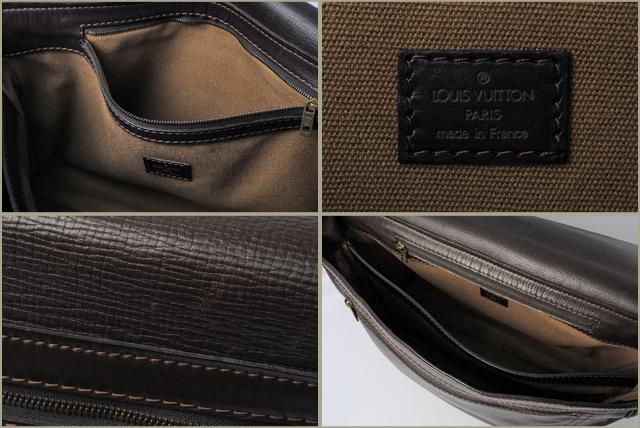 f2c598ef7d ... Louis Vuitton LOUIS VUITON bag Omaha Messenger bag M92071 Utah Cafe men