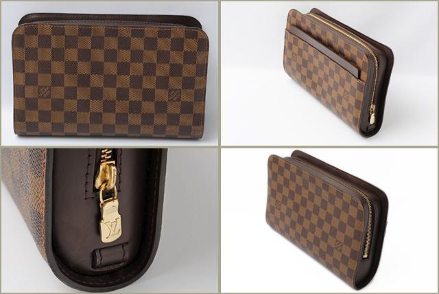 Louis Vuitton Second Bag クラッチバッグダミエサンルイ N51993 Used