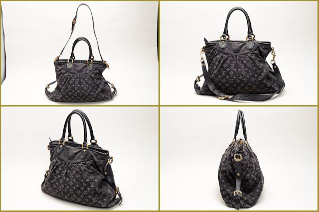 9463defbf51a Import shop P.I.T.  LOUIS VUITTON Louis Vuitton Monogram Denim ...