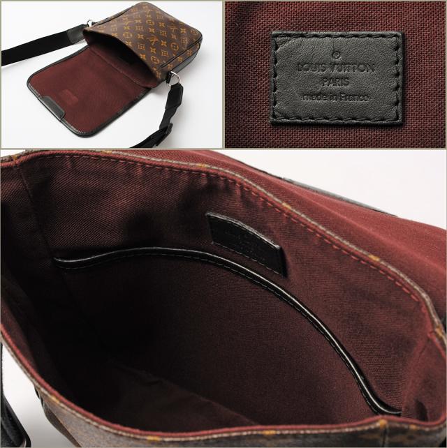 LOUIS VUITTON Louis Vuitton shoulder bag monogram マカサーバス PM M56717 [used] [smtb-TK]