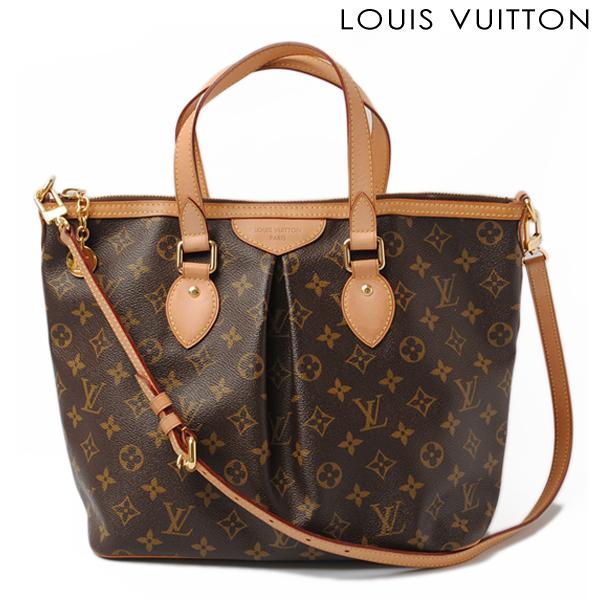 359acfd97552 Louis Vuitton LOUIS VUITTON shoulder bag Palermo PM M40145 shoulder straps  with Monogram fs2gm
