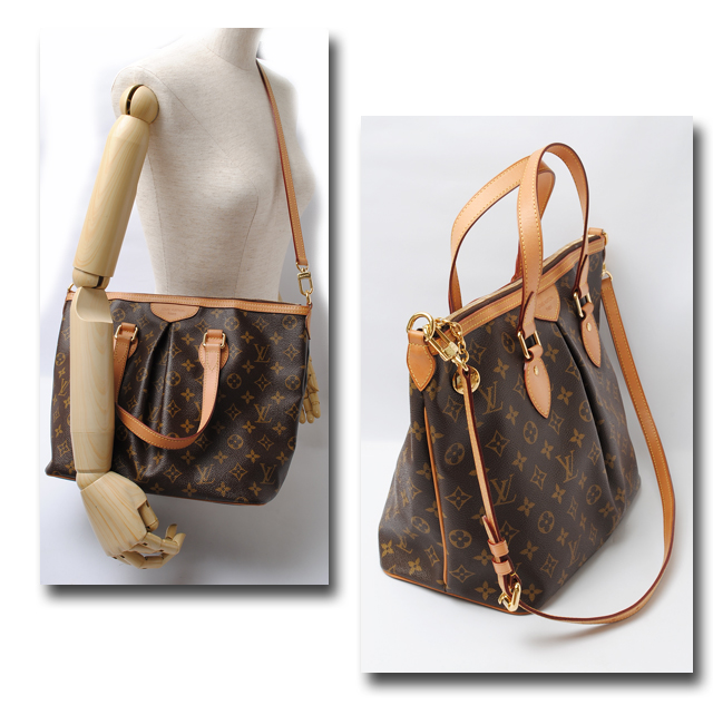 080a463cccb30 Louis Vuitton LOUIS VUITTON shoulder bag Palermo PM M40145 shoulder straps  with Monogram fs2gm