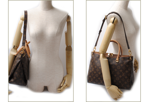 d4ffad043b192 Louis Vuitton LOUIS VUITTON shoulder bag Palermo GM M40146 shoulder straps  with Monogram