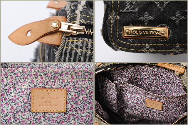 fddb6a6de1c0 Louis Vuitton Handbags and mini Boston bag LOUIS VUITTON speedy 30 Monogram  Denim patchwork Gris   black M95381