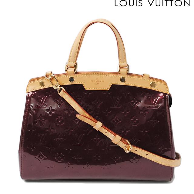 098ded2654e8 Louis Vuitton shoulder bag   handbag Vernis LOUIS VUITTON Brea MM M91690  Rouge fauviste 2way