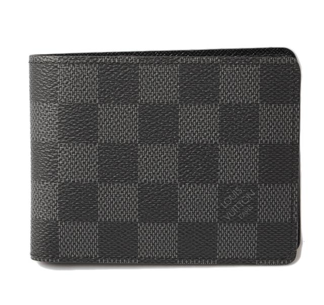 루이 뷔 통 접 지갑/지갑 LOUIS VUITTON 포 이유 슬림 N63261 다 미에/グラフィット