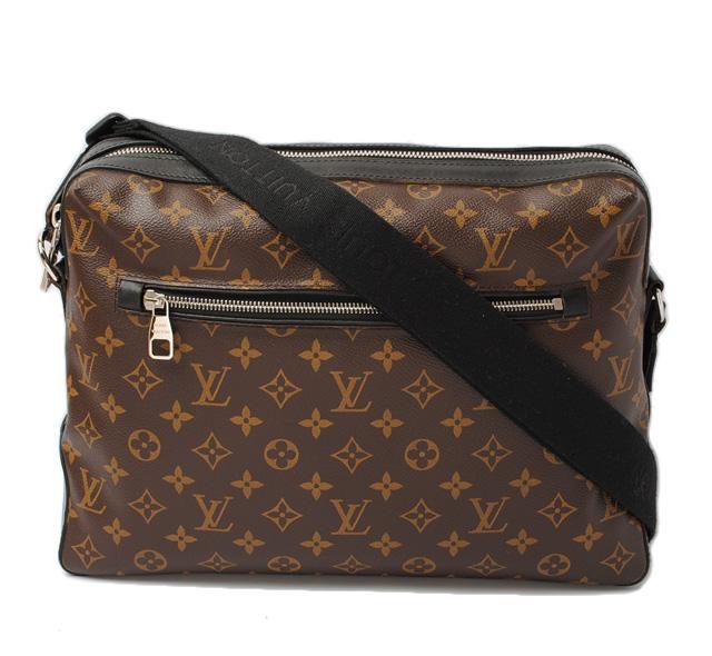 Louis Vuitton Shoulder Bags Mens Torres M40387 Monogram Macassar