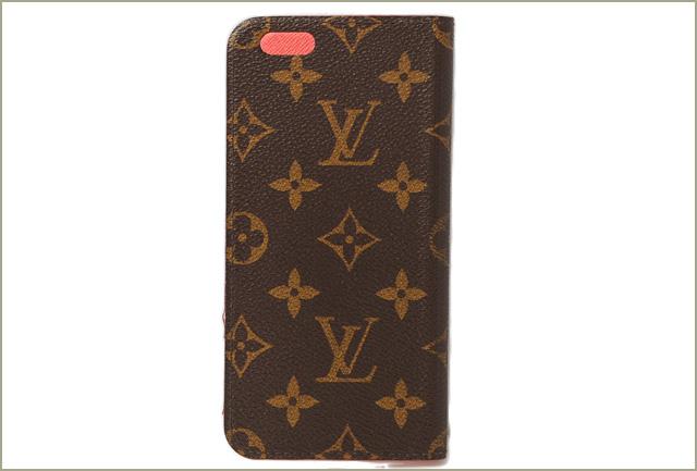 premium selection 1cbf7 c5f3d Louis Vuitton iphone 6 plus case / 6 s plus case LOUIS VUITTON iphone 6 +  Folio Monogram / Rouge M61630