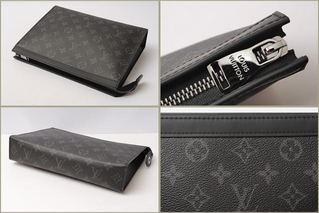 9825c72bee2 Louis Vuitton evening   clutch LOUIS VUITTON Pochette-voyage Monogram  Eclipse M61692 unused