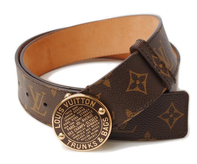 Import shop P.I.T.: Louis Vuitton belts LOUIS VUITTON ...