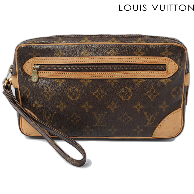Louis vuitton monogram canvas кошелекклатч 058