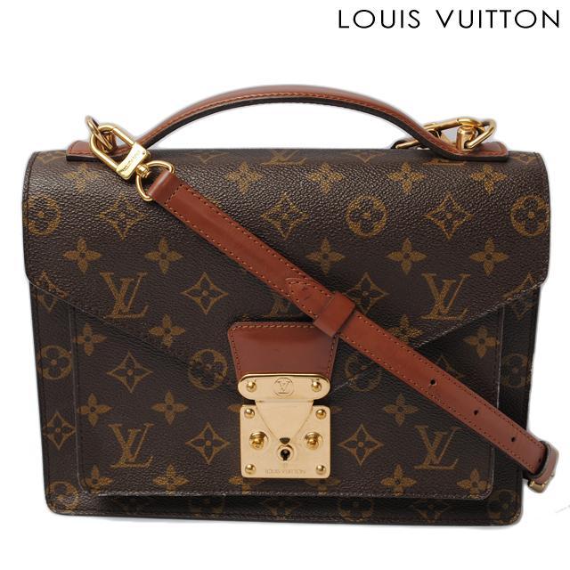 1c11118ff0f3 Import shop P.I.T.  Louis Vuitton LOUIS VUITTON handbags   shoulder bags  Monceau Monogram M51187 2 strap 25