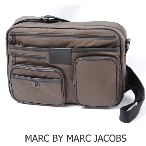 マークバイマークジェイコブス メッセンジャーバッグ メンズライン MARC BY MARC JACOBS DANNY BO ダークブラウン M401020