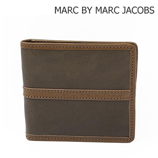 マークバイマークジェイコブス 財布 MARC BY 正規取扱店 JACOBS メンズライン プレゼント 札入れ ギフト エレファントグレー いよいよ人気ブランド 折財布 M4111443