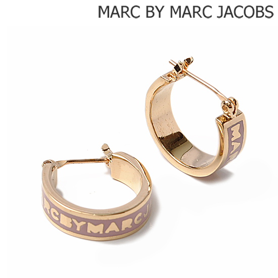 4038677410b MARC BY MARC JACOBS mark by MARC BY marc jacobs accessories pierced  earrings classical music mark logo   Rose (COLONIAL ROSE) M5122028