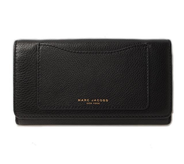 マークジェイコブス 財布 MARC JACOBS 3折長財布/RECRUIT/リクルート ブラック M0008169