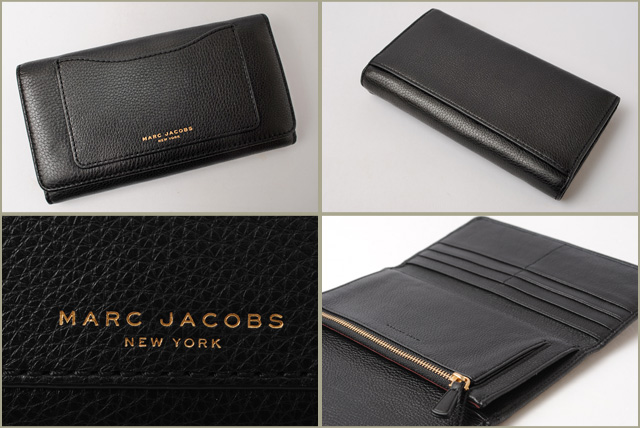 마크 제이콥스 지갑 MARC JACOBS 3절장 지갑/RECRUIT/리크루트 블랙 M0008169