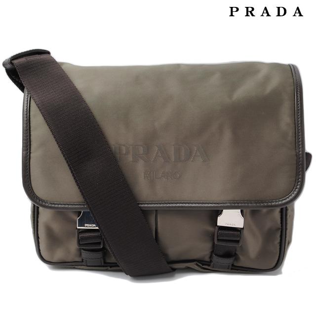 7a71491c1627 ... ebay prada prada shoulder bag and messenger bag va0769 nylov logo nylon  fumo and kirk mens