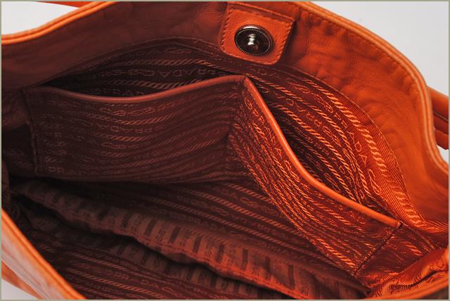 普拉达手提包袋/挎包普拉达 (prada) 老式皮革青果