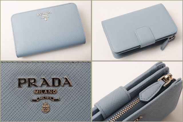 225dff35fead Import shop P.I.T.: Prada purse PRADA folded unused wallet 1ML225 ...