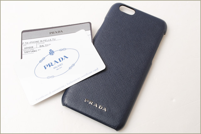 4eb3c615f7ea Import shop P.I.T.: Prada iPhone 6 cases / 6s press PRADA 2ZH008 ...
