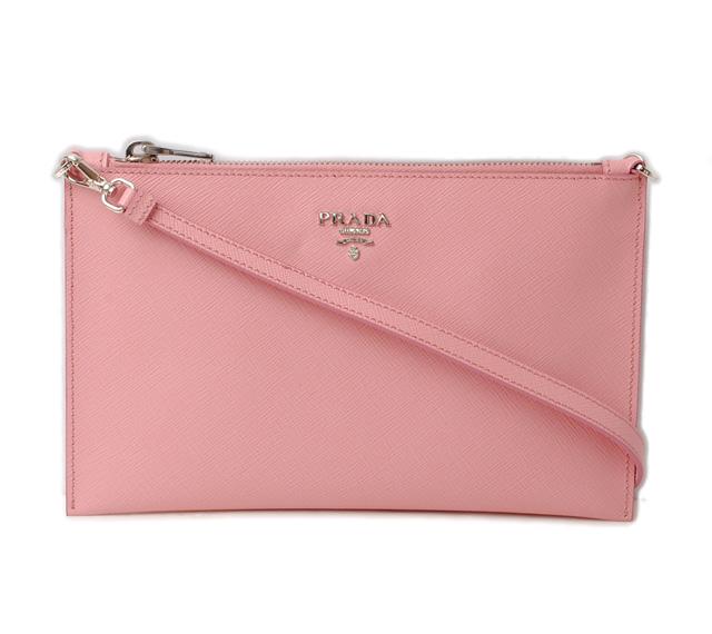 80d9b1d2416c usa mint condition with prada clutch bag shoulder bag 2way prada 1nh004  petalo rose pink strap