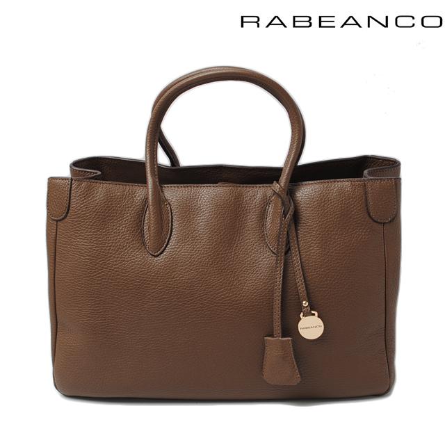 ラビアンコ トートバッグ RABEANCO ラージトート ソフトレザー ブラウン 1113611A