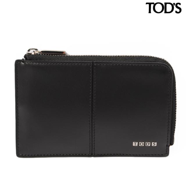 トッズ TOD'S コインケース/カードケース  トッズ TOD'S コインケース/カードケース キーチェーン付 メンズ レザー ブラック XAMLITFC200ZACB999 ギフト プレゼント