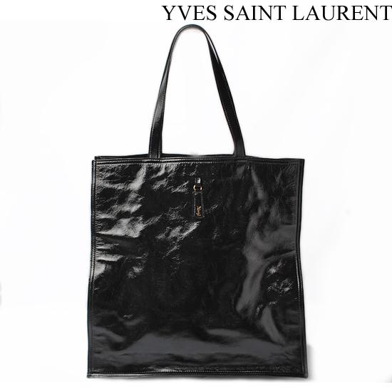 イヴ・サンローラン トートバッグ ウォーキー Yves Saint Laurent/Walky Tote ブラック 274764 AB80G 1000【中古】